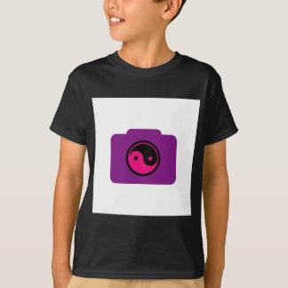 T-shirt Câmara digital com ying o símbolo de yang