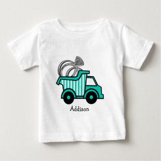 T-shirt Camião basculante do portador de anel
