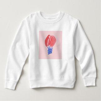 T-shirt Camisola da criança do balão de ar