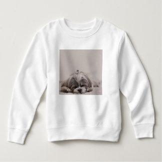 T-shirt Camisola do sono do tzu de Shih, cão do sono