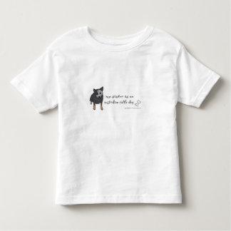 T-shirt cão australiano do gado