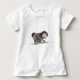 T-shirt Cão de filhote de cachorro de Shihtzu, animal de