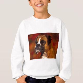 T-shirt Cão do pugilista