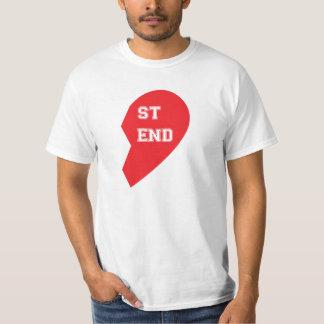 T-shirt Cão e ser humano de harmonização do melhor amigo