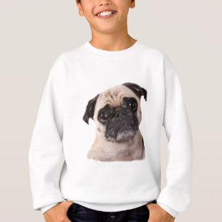 T-shirt cão pequeno bonito do pug