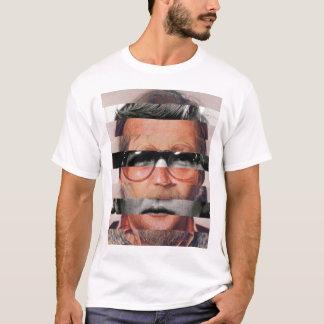 T-shirt Cara cortada acima