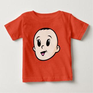 T-shirt Cara feliz do bebê