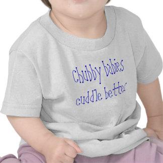 T-shirt carnudo dos bebês