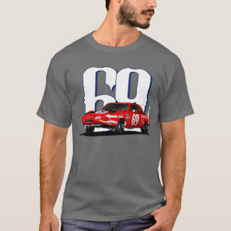 T-shirt Carregador Daytona de 1969 Dodge