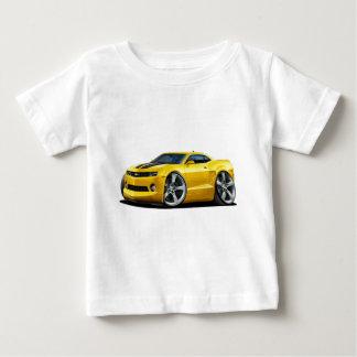 T-shirt Carro 2010-12 Amarelo-Preto de Camaro