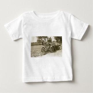 T-shirt Carro destruição cidade MI julho de 1930 marinho s