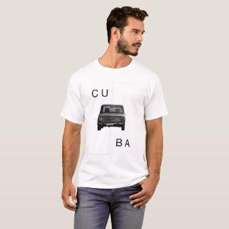 T-SHIRT CARROS EM CUBA