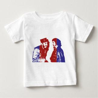 T-shirt Castro e Che