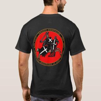 T-shirt Cavaleiros Hospitaller que carrega no selo Shir da