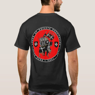 T-shirt Cavaleiros Hospitaller que marcha para lutar a