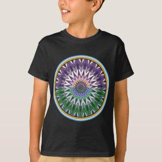 T-shirt Céu e mandala da terra