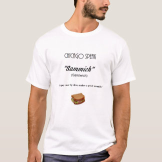T-shirt Chicago fala