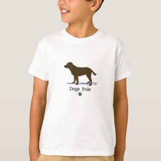 T-shirt Chocolate labrador retriever