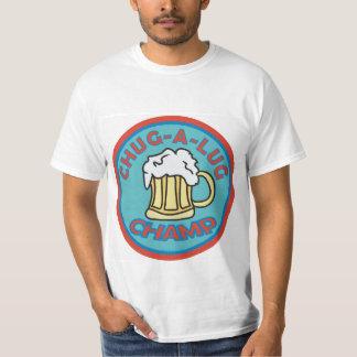T-shirt Chug um campeão do talão