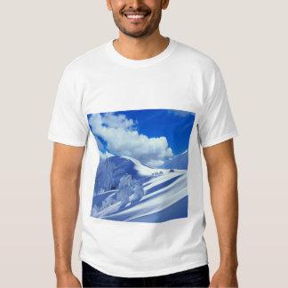 T - shirt cimeira montanha neva t-shirt