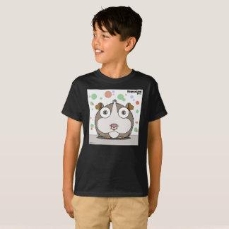 T-shirt (cinzento) do menino do hamster