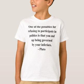 T-shirt Citações 2a de Plato