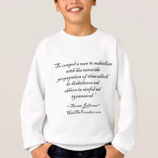 T-shirt Citações de Thomas Jefferson