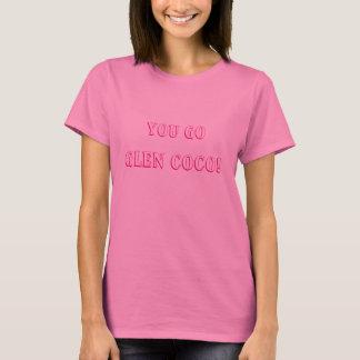 T-shirt Cocos médios do vale das meninas