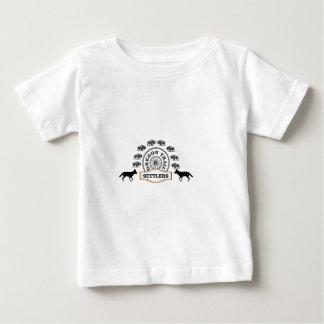 T-shirt colonos da fuga de oregon resistentes