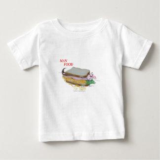 T-shirt Comida do homem de Tony Fernandes - ceia dos