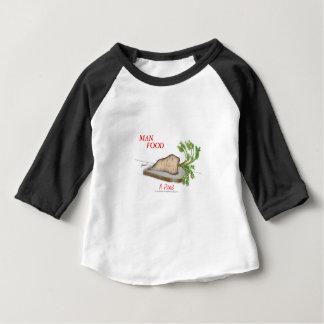T-shirt Comida do homem de Tony Fernandes - um piquenique