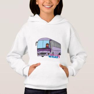 T-shirt Condutor de autocarro da mulher
