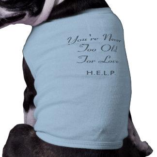 T-shirt confortável do cachorrinho camisa sem mangas para cachorro