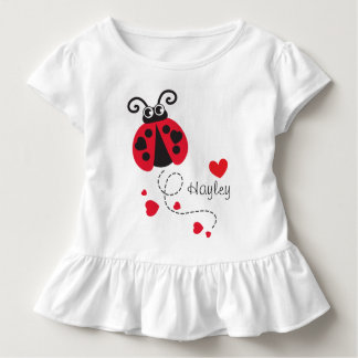 T-shirt conhecido vermelho dos corações do