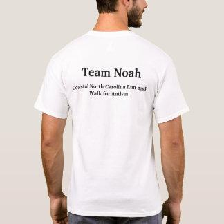 T-shirt Consciência do autismo de Noah da equipe