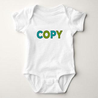 T-shirt CÓPIA - cópia & pasta para gêmeos