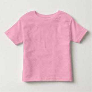 T-shirt cor-de-rosa liso do jérsei da multa da