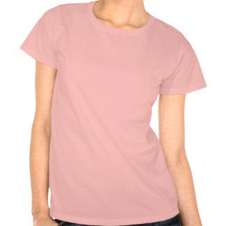 T-shirt cor-de-rosa pintado da gama