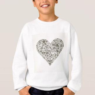 T-shirt Coração da arte