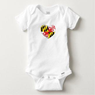 T-shirt Coração de Maryland