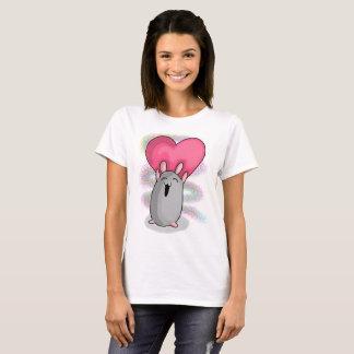 T-shirt Coração do presunto