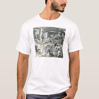 T-shirt Corrediça de lanterna mágica 4 dos trabalhadores