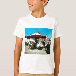 T-shirt Corrediça de lanterna mágica dos 1890s do