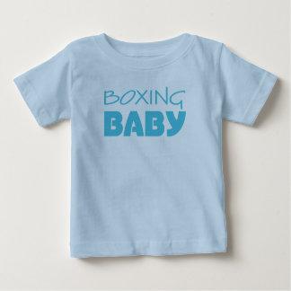 T-shirt & criança do bebé do encaixotamento uma