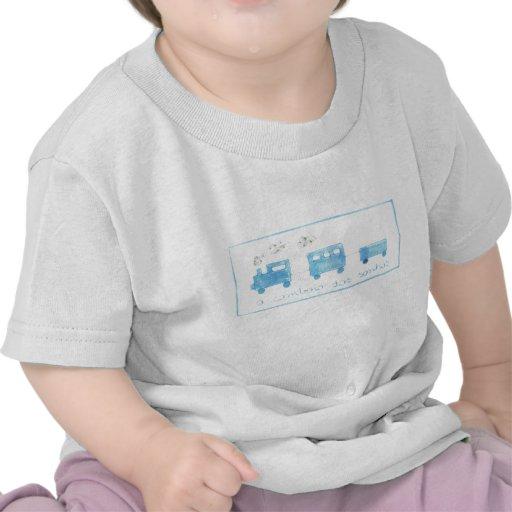 T-shirt Criança - dos Sonhos de O Comboio
