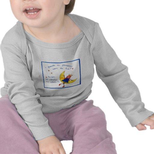 T-shirt Criança Manga Comprida
