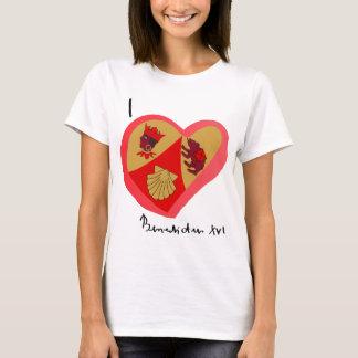 T-shirt Cuore do nel de Benedetto XVI