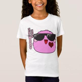 T-shirt Cutie com estilo