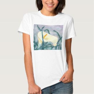 T-shirt da aguarela de Lilly do Calla