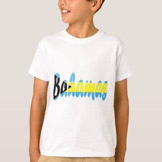 T-shirt da bandeira de Bahamas